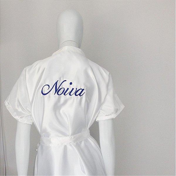 Robe Básico Branco