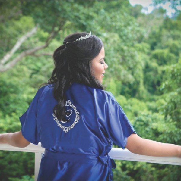 Robe Básico Azul Royal