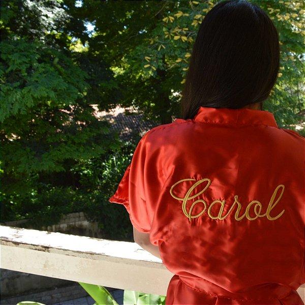 Robe Básico Vermelho