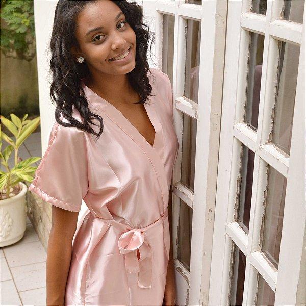 Robe Básico Rosa Claro