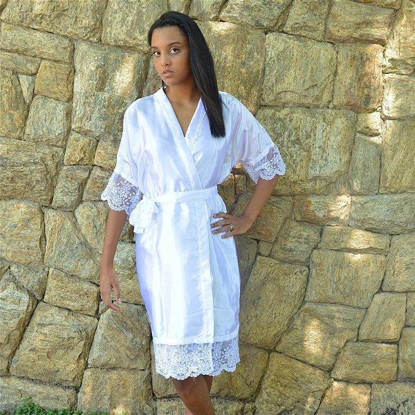 Robe Luxo Branco