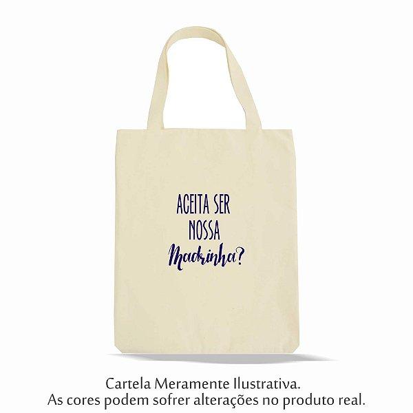 Ecobag Convite Madrinha
