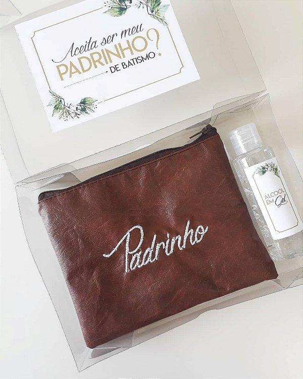 Kit Convite Padrinho Batismo