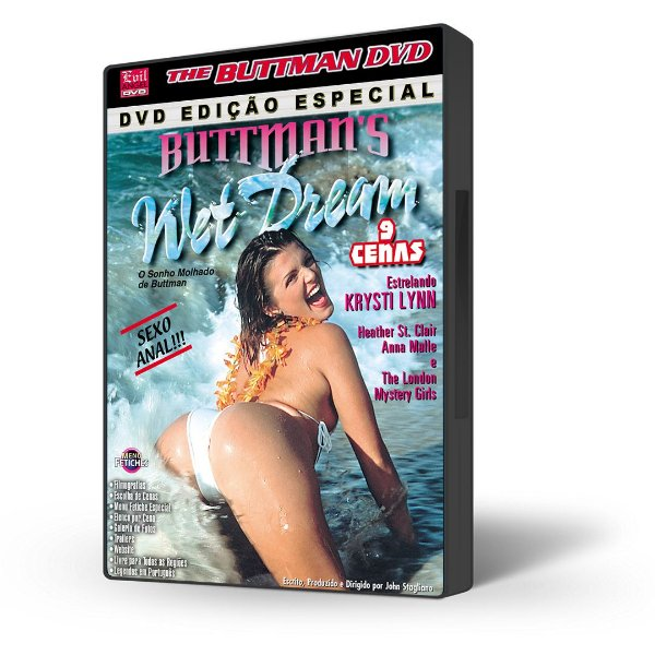 DVD Buttman, O Sonho Molhado de Buttman, Buttman's Wet Dream