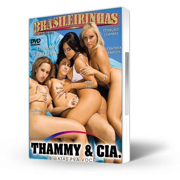 DVD Brasileirinhas, Thammy & Cia. com Thammy Miranda e Julia Paes