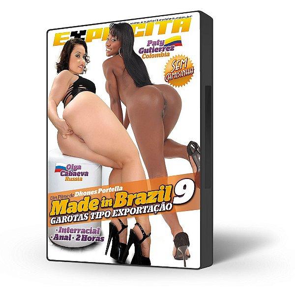 DVD Explícita Vídeo, Made in Brazil #9, Garotas Tipo Exportação