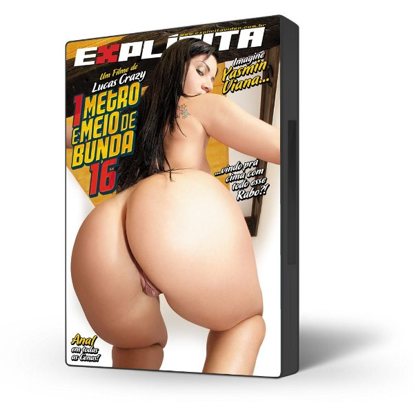 DVD Explícita Vídeo, 1 Metro e Meio de Bunda #16