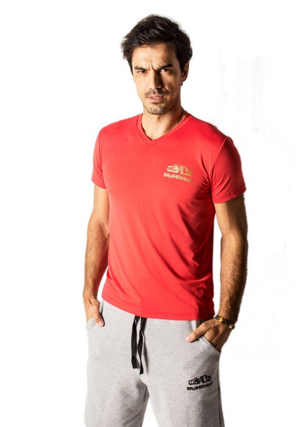 Camiseta Sunfit Vermelha