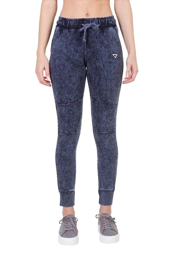 Calça jogging Feminina brohood Azul Jeans