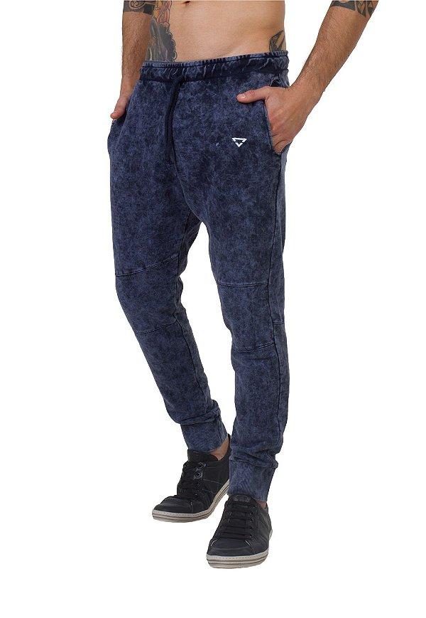 Calça Jogging Masculina Brohood Azul Jeans