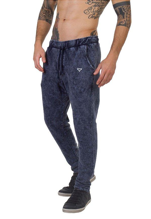 Calça Regular Fit Masculina Brohood Azul Jeans