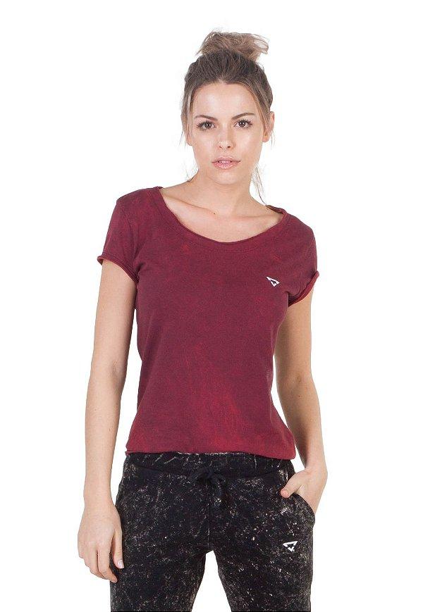 Camiseta Slim Brohood Vermelho Fire