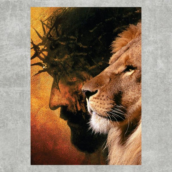 Jesus e leão #2