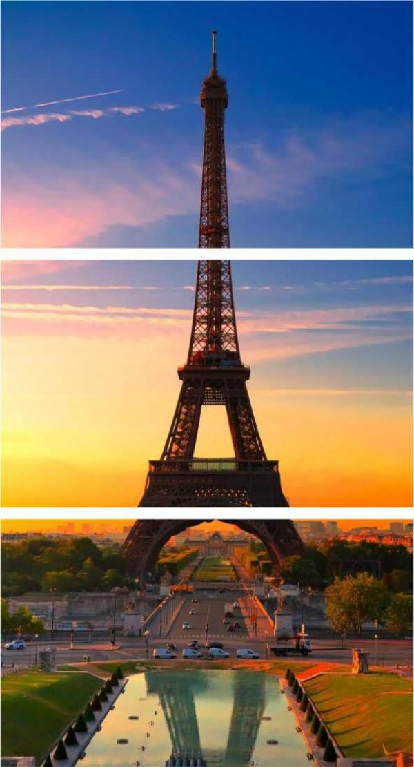 Paris destaque - 3 telas