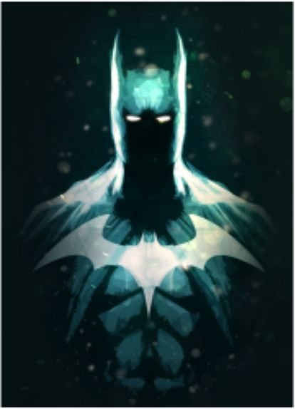 Batman - Placa Decorativa