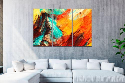 Telas Artísticas - 3 Telas Canvas
