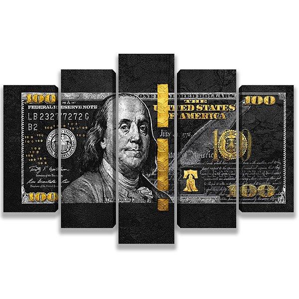 Money - 5 Telas Canvas