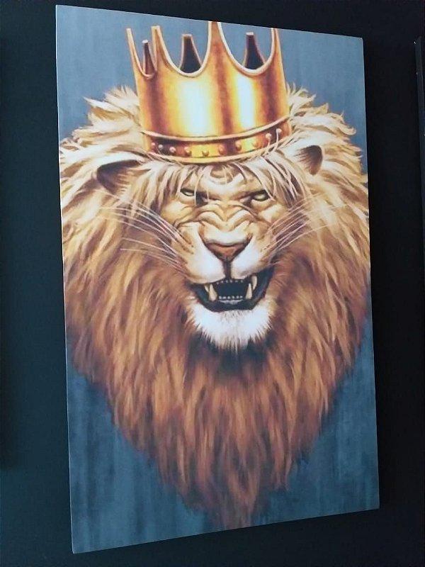 Lion The King - Tela Canvas