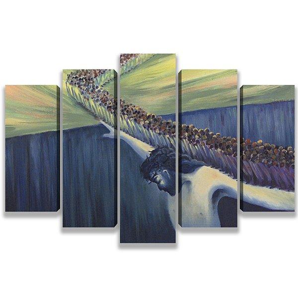 Jesus te sustenta - 5 Telas Canvas