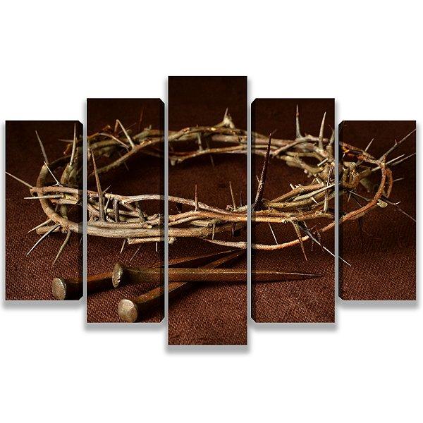 Coroa de Espinhos - 5 Telas Canvas