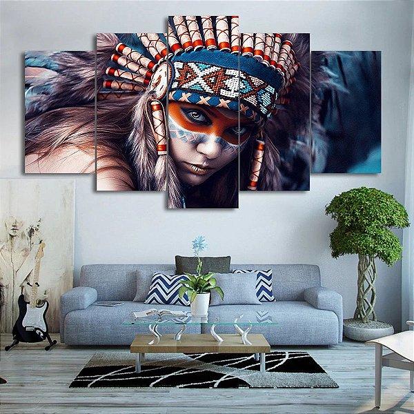 índia  -  5 Telas Canvas