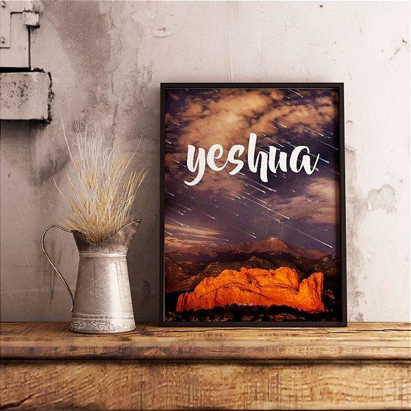 Yeshua - Emoldurado