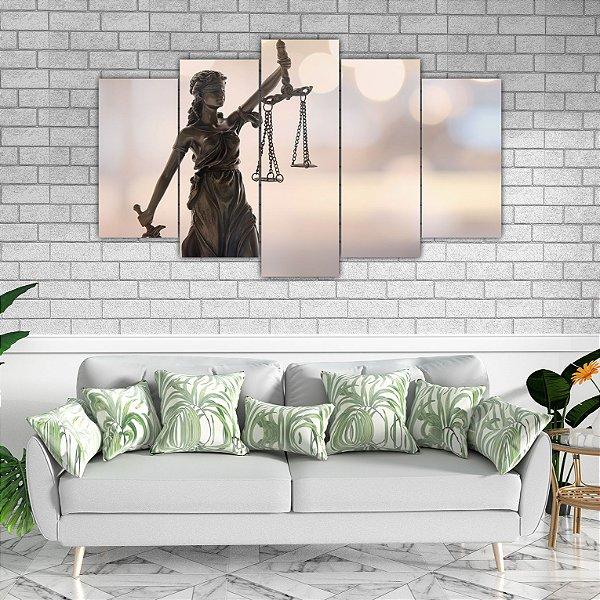 Mosaico Direito  -  5 Telas Canvas