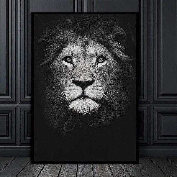 Leão  - Emoldurado