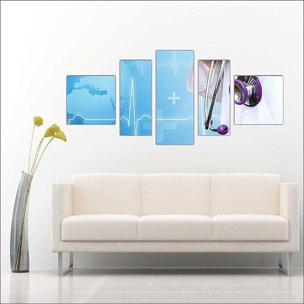 MEDICINA - 5 Telas Canvas
