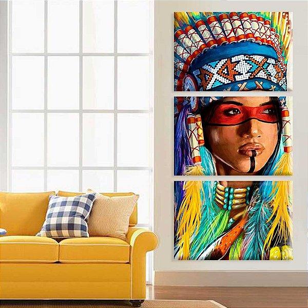 Índia - 3 telas Canvas