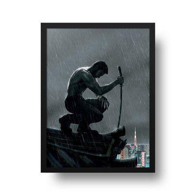 The Wolverine - Emoldurado