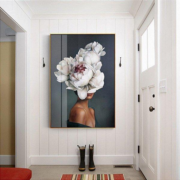 Women Flowers - Emoldurado
