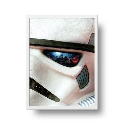 Soldado star wars - Emoldurado
