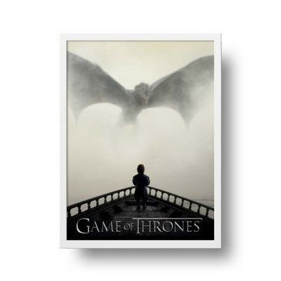 Games of Thrones - Emoldurado