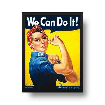 We can do it - Emoldurado