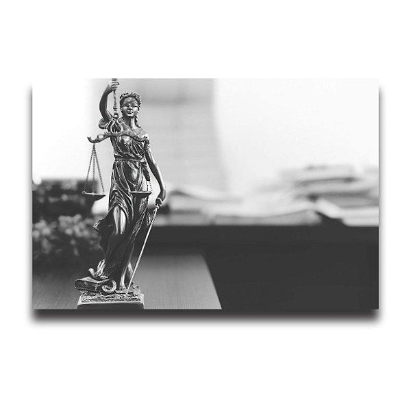 QUADRO ESCRITÓRIO ADVOCACIA DIREITO DEUSA DA JUSTIÇA