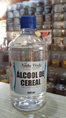 ALCOOL DE CEREAIS 500ML NINHO VERDE