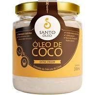 OLEO DE COCO EXTRA VIRGEM 200ML SANTO OLEO