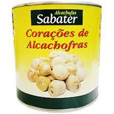 FUNDOS DE ALCACHOFRA SABATER 390G