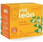 CHA DE CAMOMILA 10 SACHES LEAO