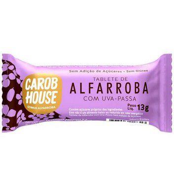 ALFARROBA BOMBOM UVA PASSA 12G CAROB HOUSE