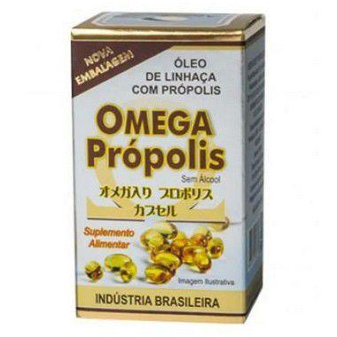 OMEGA PROPOLIS CAPSULAS 100X300MG APIS BRASIL
