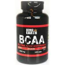BCAA 120 CAPSULAS 3000MG KING EARTH