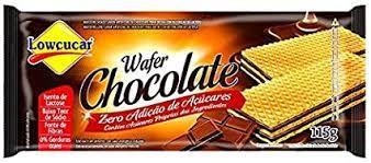 WAFER CHOCOLATE ZERO ACUCAR 115G LOWCUCAR