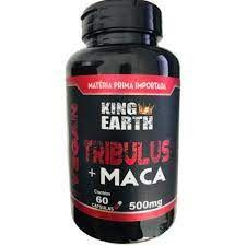 TRIBULUS  MACA PERUANA 60 CAPS 500MG KING EARTH