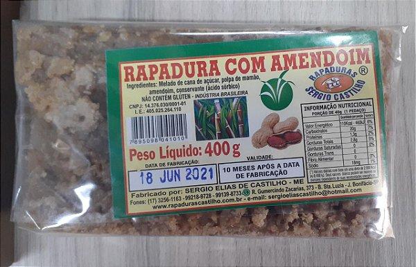 RAPADURA COM AMENDOIM 400G MINEIRA