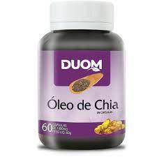 OLEO DE CHIA 60 CAPSULAS 1000MG DUOM