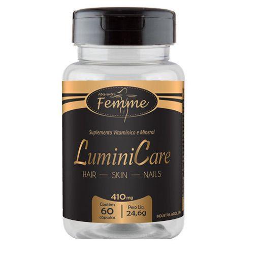 LuminiCare (Cabelos, Unhas e Pele) 410mg 60 Cápsulas – Apis Nutri