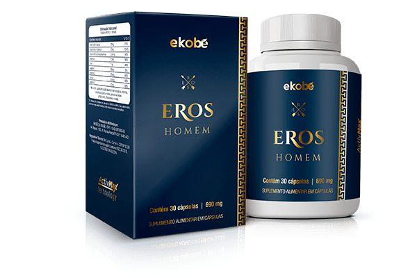 EROS - SAUDE SEXUAL DO HOMEM - 30 CAPSULAS DE 690MG EKOBE