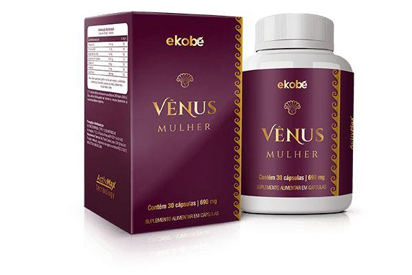VENUS (SAUDE SEXUAL DA MULHER) 30 CAPSULAS DE 690MG EKOBE